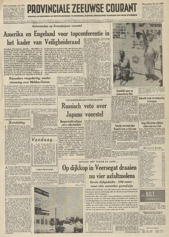 Provinciale Zeeuwse Courant 1958-07-23