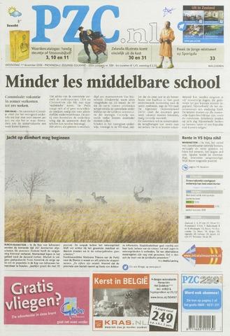 Provinciale Zeeuwse Courant 2008-12-17