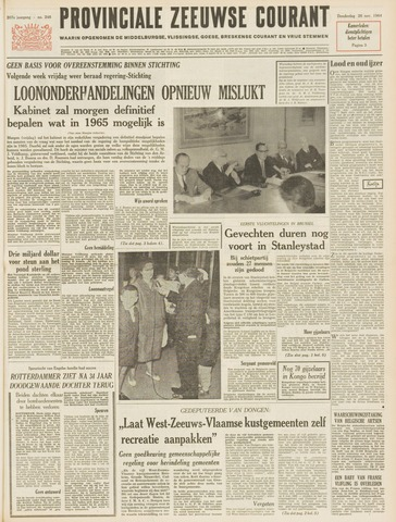 Provinciale Zeeuwse Courant 1964-11-26