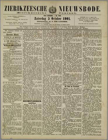Zierikzeesche Nieuwsbode 1901-10-05