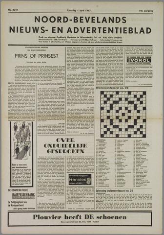Noord-Bevelands Nieuws- en advertentieblad 1967-04-01