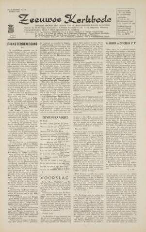 Zeeuwsche kerkbode, weekblad gewijd aan de belangen der gereformeerde kerken/ Zeeuwsch kerkblad 1966-03-04
