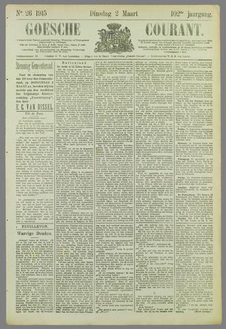 Goessche Courant 1915-03-02