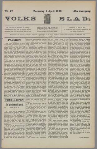 Volksblad 1923-04-01