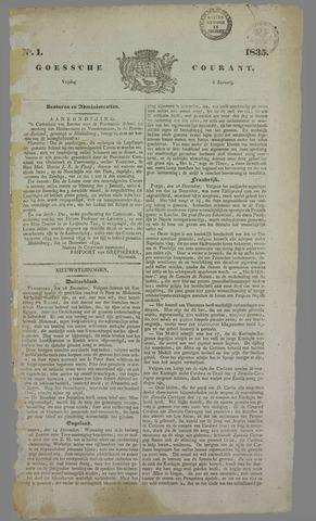 Goessche Courant 1835