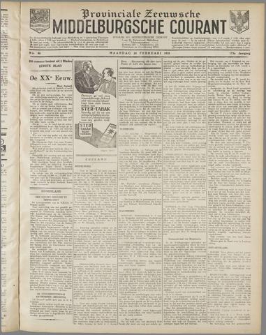Middelburgsche Courant 1930-02-24