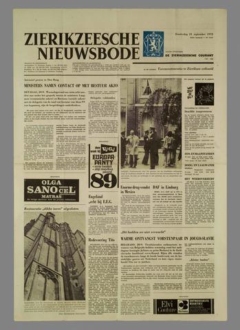 Zierikzeesche Nieuwsbode 1972-09-21