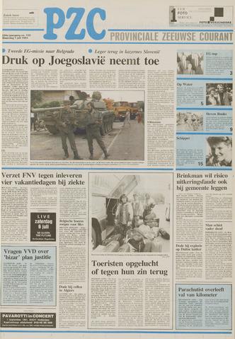 Provinciale Zeeuwse Courant 1991-07-01