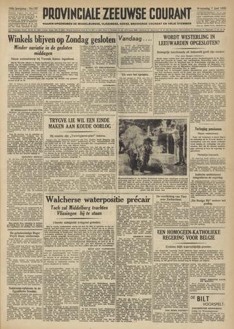 Provinciale Zeeuwse Courant 1950-06-07