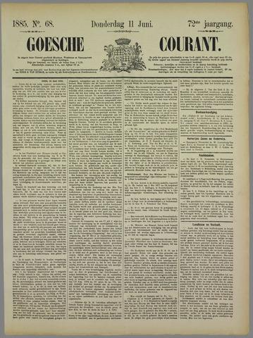 Goessche Courant 1885-06-11