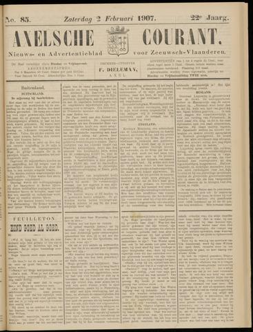 Axelsche Courant 1907-02-02