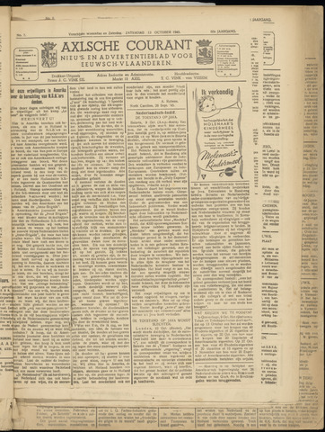 Axelsche Courant 1945-10-13