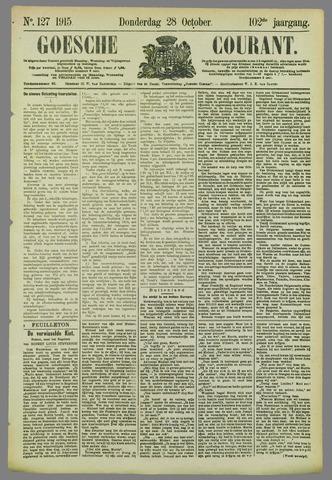 Goessche Courant 1915-10-28
