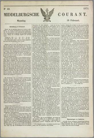 Middelburgsche Courant 1872-02-19