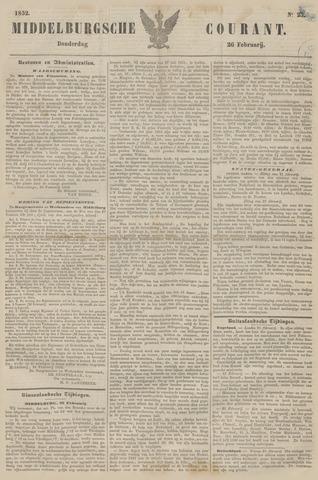 Middelburgsche Courant 1852-02-26