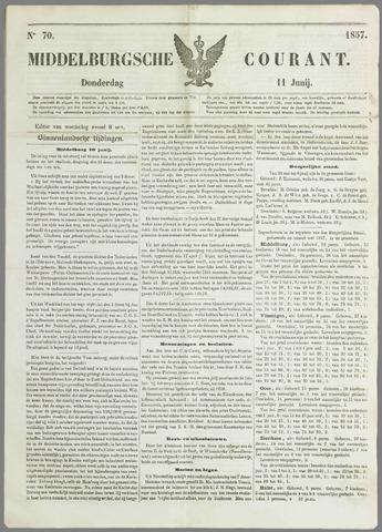 Middelburgsche Courant 1857-06-11