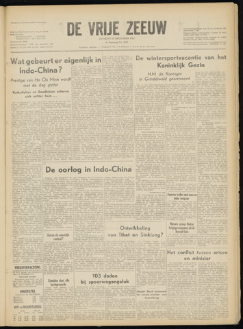 de Vrije Zeeuw 1953-12-29