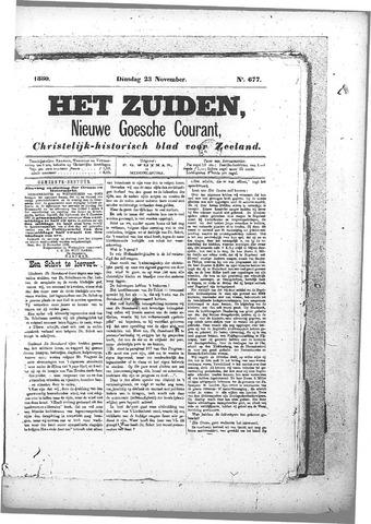 Nieuwe Goessche Courant 1880-11-23