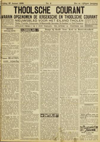 Ierseksche en Thoolsche Courant 1939-01-27