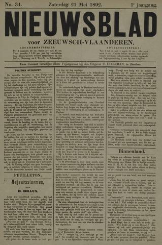 Nieuwsblad voor Zeeuwsch-Vlaanderen 1892-05-21