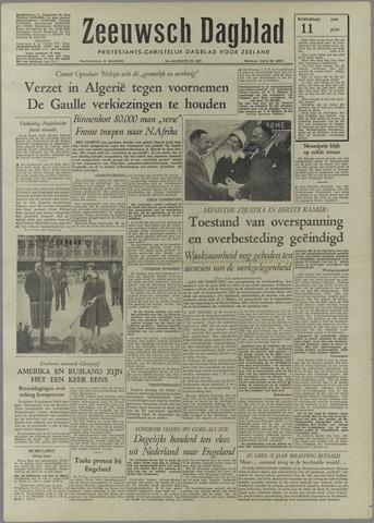 Zeeuwsch Dagblad 1958-06-11