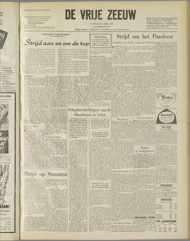 de Vrije Zeeuw 1958-04-05
