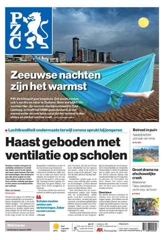Provinciale Zeeuwse Courant 2020-08-06