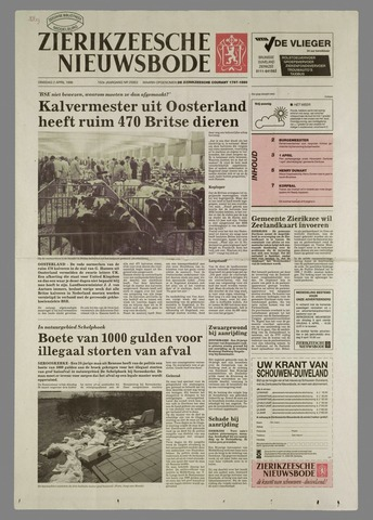 Zierikzeesche Nieuwsbode 1996-04-02