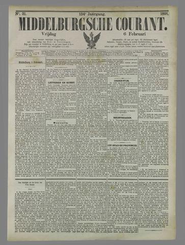 Middelburgsche Courant 1891-02-06