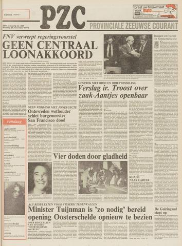 Provinciale Zeeuwse Courant 1978-11-28