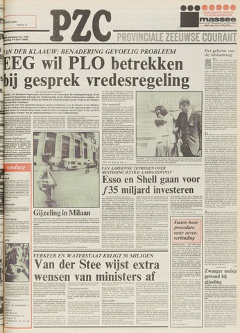Provinciale Zeeuwse Courant 1980-06-14