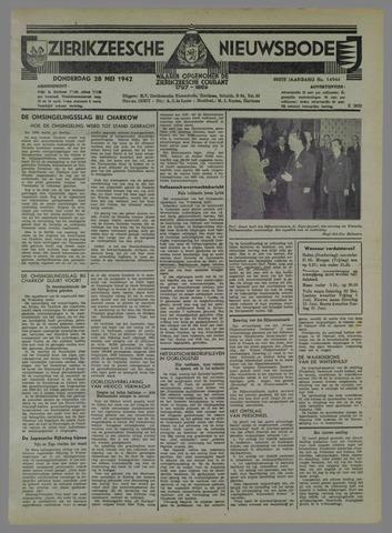 Zierikzeesche Nieuwsbode 1942-05-28