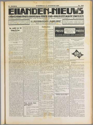 Eilanden-nieuws. Christelijk streekblad op gereformeerde grondslag 1939-08-16