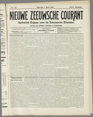 Nieuwe Zeeuwsche Courant 1905-04-08