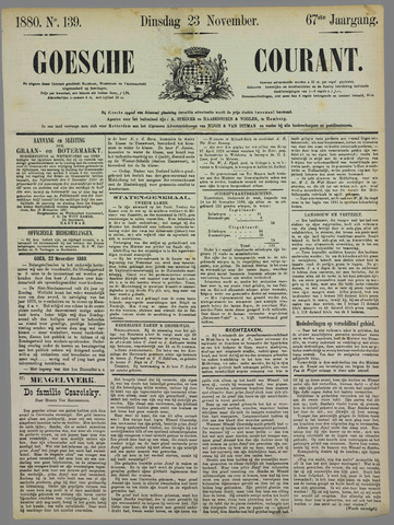 Goessche Courant 1880-11-23