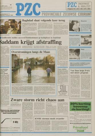 Provinciale Zeeuwse Courant 1993-01-14