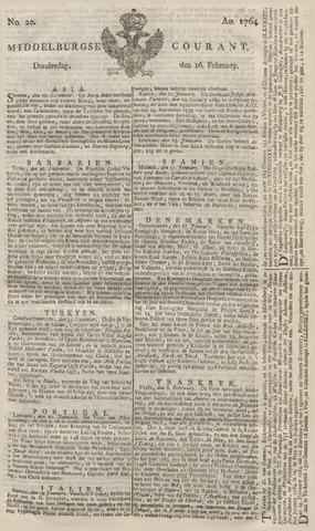 Middelburgsche Courant 1764-02-16