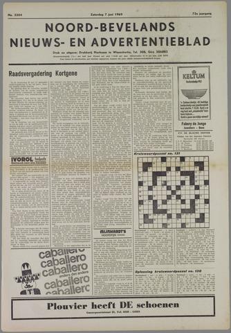 Noord-Bevelands Nieuws- en advertentieblad 1969-06-07