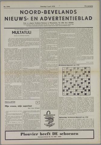 Noord-Bevelands Nieuws- en advertentieblad 1970-04-04