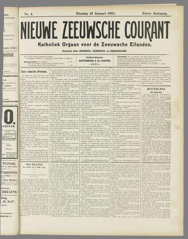 Nieuwe Zeeuwsche Courant 1905-01-10