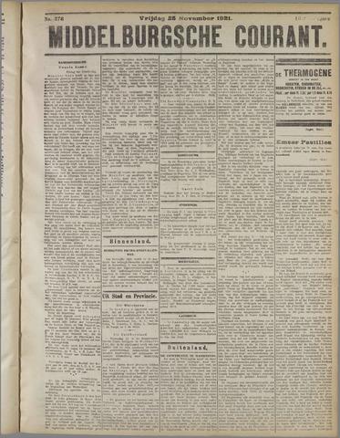 Middelburgsche Courant 1921-11-25