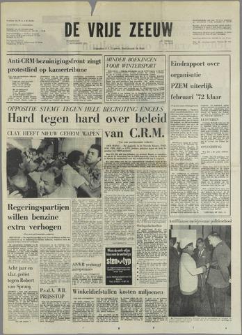 de Vrije Zeeuw 1971-11-17