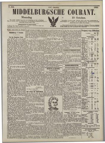 Middelburgsche Courant 1902-10-13