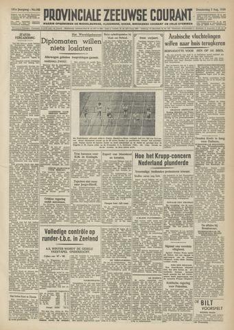 Provinciale Zeeuwse Courant 1948-08-05