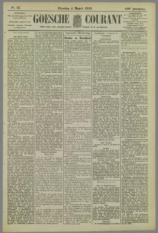 Goessche Courant 1919-03-04