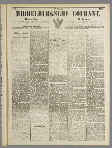 Middelburgsche Courant 1906-01-11