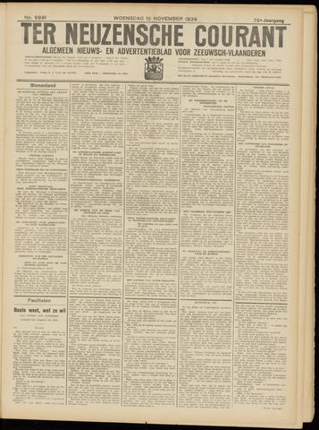 Ter Neuzensche Courant. Algemeen Nieuws- en Advertentieblad voor Zeeuwsch-Vlaanderen / Neuzensche Courant ... (idem) / (Algemeen) nieuws en advertentieblad voor Zeeuwsch-Vlaanderen 1939-11-15