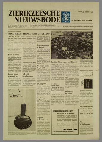 Zierikzeesche Nieuwsbode 1972-02-29