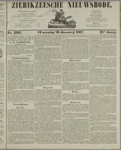 Zierikzeesche Nieuwsbode 1867-01-30