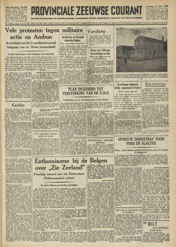Provinciale Zeeuwse Courant 1950-10-10